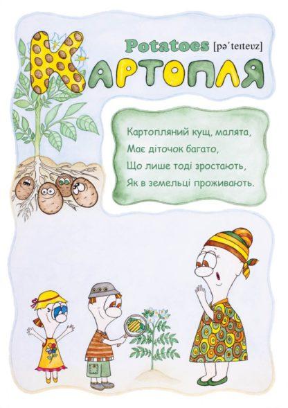 Фрукти, овочі, ягоди + CD + Розмальовка. Світлана Поліщук-1-фото